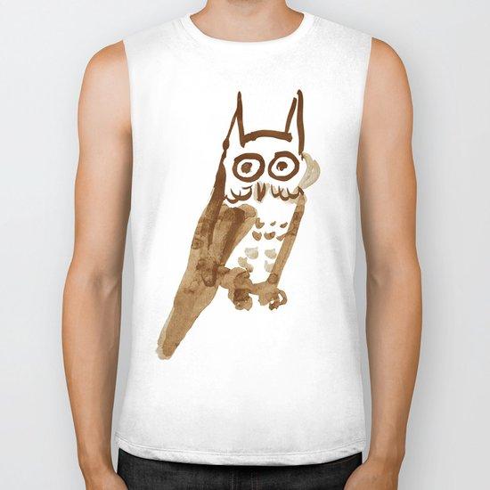 Naive Owl Biker Tank