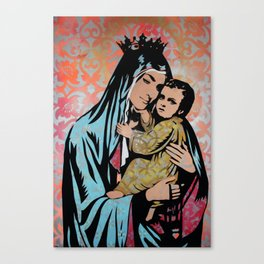 In Guad we Trust Canvas Print