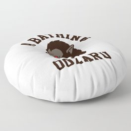 A Bathing Oozaru Floor Pillow