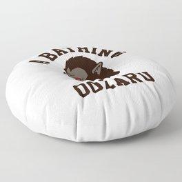 A Bathing Oozaru Floor Pillow