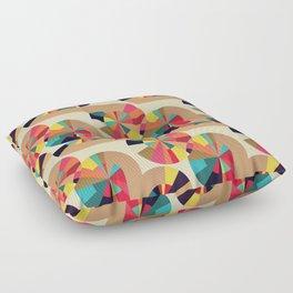 Kaleidoscope Pattern Floor Pillow
