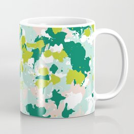 Freestyle Paint Spring Colors Coffee Mug