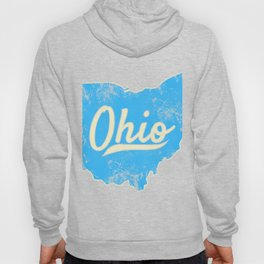 Ohio Gift I Love My Ohio Home Cleveland Cincinnati Akron OH Hoody