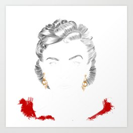 Scarlett O'Hara Art Print