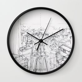 Views of West Philly Wall Clock