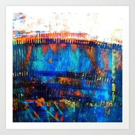 Blue Brane S20 Art Print