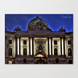 Viennese night Canvas Print