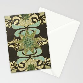 Nine-Pointed Star with Lotus Stationery Cards