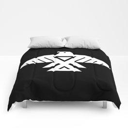 Thunderbird flag - Hi Def image Inverse edition Comforters