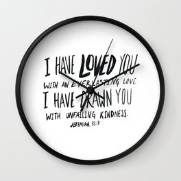 Everlasting Love Wall Clock
