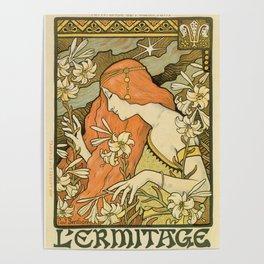 Ermitage Art Nouveau Magazine Poster