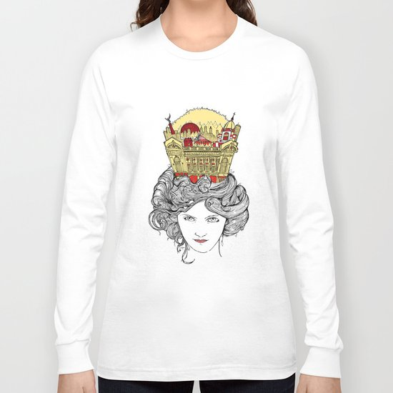 The Queen of Montreal Long Sleeve T-shirt