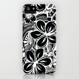 Savaii Polynesian Tribal iPhone Case