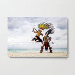 Battle of Gods Metal Print