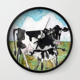 Mommy Milk Cow Wall Clock