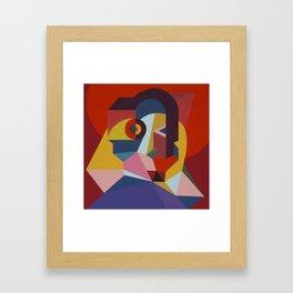 the inmost light Framed Art Print