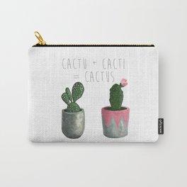 Cactu + Cacti = Cactus Carry-All Pouch