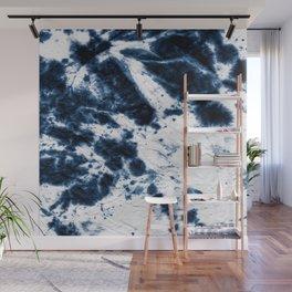 Boho Paper Tie-Dye Wall Mural