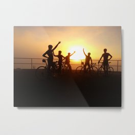 Good Morning San Francisco Metal Print