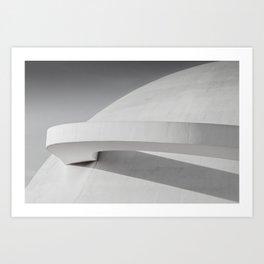 National Museum of Republic, Brasília, Brazil Art Print