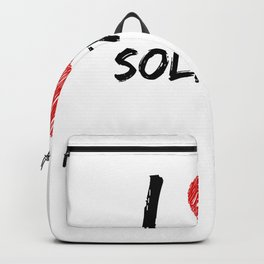 I Love Solitaire Backpack