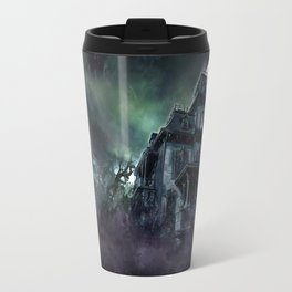 The Haunted House Travel Mug