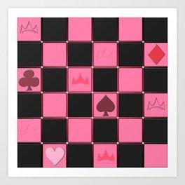 Check....Poker!?!? Art Print