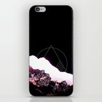 snowboard iPhone & iPod Skins featuring Mountain Ride by Schwebewesen • Romina Lutz
