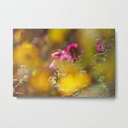 Autumn dream in yellow light Metal Print