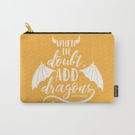 Add Dragons Carry-All Pouch