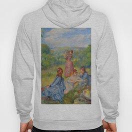 """Auguste Renoir """"Jeunes filles jouant au volant"""" Hoody"""