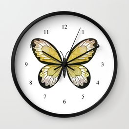 golden coryphée (Coryphée golda) Wall Clock