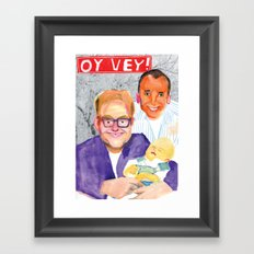 OY VEY! Framed Art Print