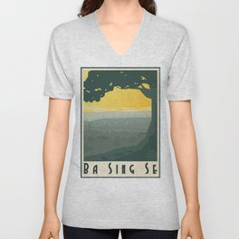Ba Sing Se Travel Poster Unisex V-Neck