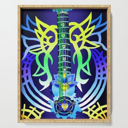 Fusion Keyblade Guitar #200 - Ultima Weapon & Dual Disk Serving Tray