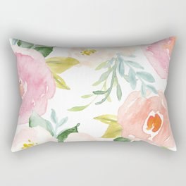 Floral 02 Rectangular Pillow