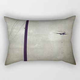 Sad Goodbyes Rectangular Pillow