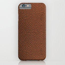 Football / Basketball Leather Texture Skin iPhone Case