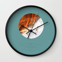 The False Prophet (This Burning World 1) Wall Clock