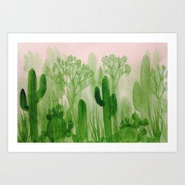 Memory Landscape 1 Art Print