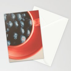 blueberries as big as your thumb ... Stationery Cards