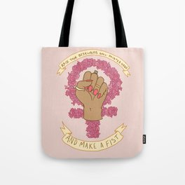 Femme Is Not Fragile Tote Bag