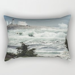 Storm Chasers at the Lighthouse Rectangular Pillow