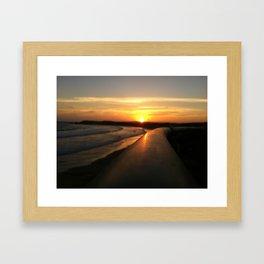 New Year's Gift Framed Art Print