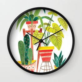 Jungalow Wall Clock
