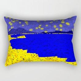 Golden Naples Rectangular Pillow