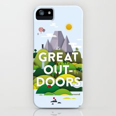 It's Great Outdoors Slim Case iPhone (5, 5s)