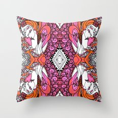 Anatomy Of a Heart - Revisited  Throw Pillow
