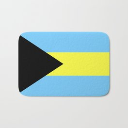 bahamas country flag Bath Mat