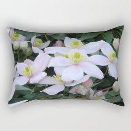 Clemantis Montana I3 Rectangular Pillow